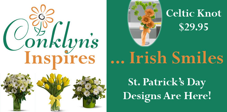 Enjoy the designs we've created for you to inspire Irish smiles this St. Patrick's Day